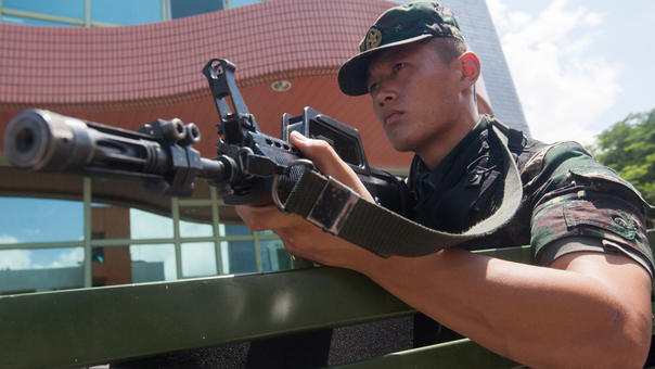 China inventa el rifle láser