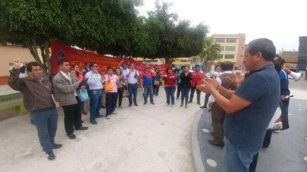 Docentes lambayecanos suspendieron huelga