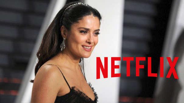 Salma Hayek y Netflix