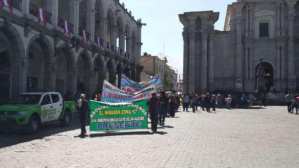 Arequipa protesta