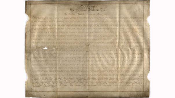 La copia manuscrita fue descubierta en la Oficina del registro del condado de West Sussex.