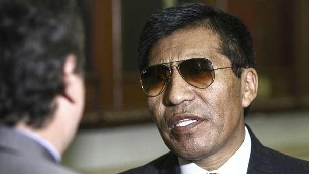 Mamani es investigado por el presunto delito de tráfico de influencias en agravio del Estado.