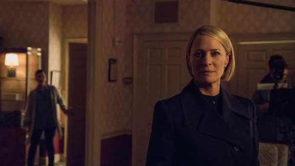 Claire Underwood (Robin Wright) ahora tiene el poder: ella es la presidenta de los Estados Unidos.