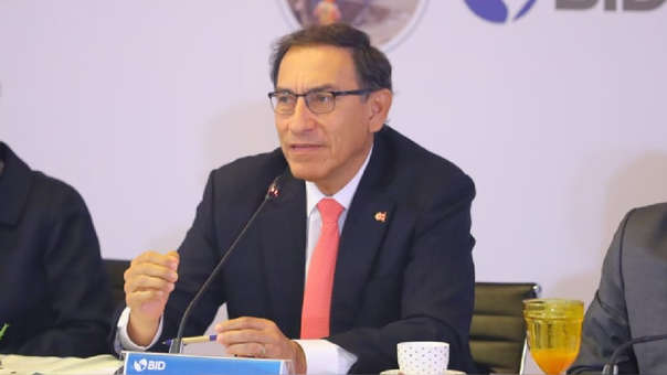 Vizcarra señaló que con el esfuerzo de todos los peruanos, se conseguirá el objetivo de un país desarrollado.