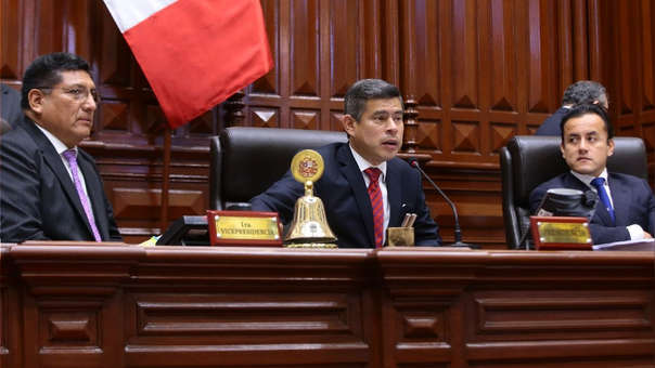 Luis Galarreta es presidente el Congreso de la República desde julio del año pasado.