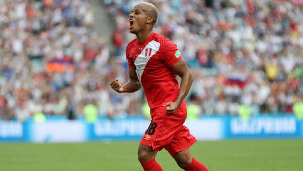 André Carrillo ha sido titular en los 3 partidos de Perú en Rusia 2018. La 'Cuelbra' fue el mejor jugador peruano en el Mundial.