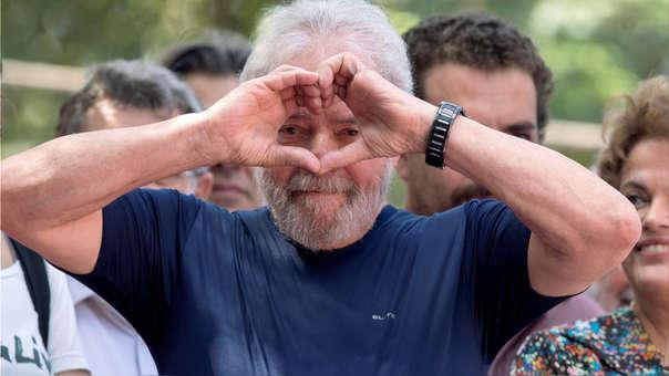 Ordenaron la liberación del ex presidente Lula da Silva
