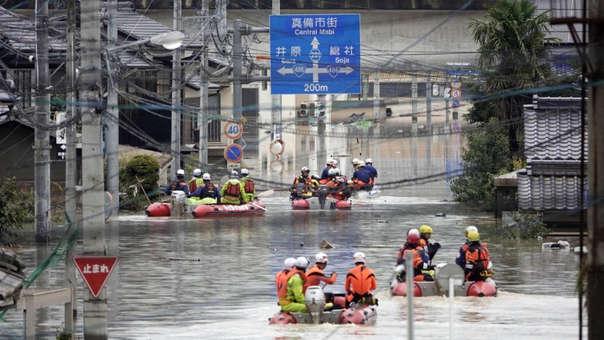 Ascienden a 157 los muertos por las lluvias en Japón