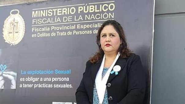 Andrónika Zans fiscal de Trata de Personas cusco
