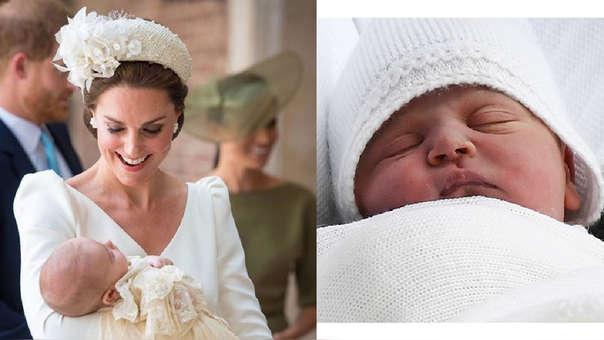 El príncipe Luis nació el pasado 23 de abril en el Hospital Saint Mary's de Londres.