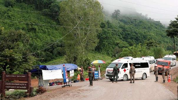 Rescatan a los 13 atrapados en Tailandia — Misión cumplida