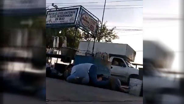 Balacera en México