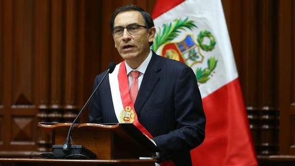 Vizcarra asumió el cargo el 23 de marzo de este año.