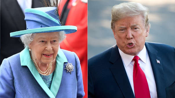 La reina Isabel II y Donald Trump tendrán su primera reunión este viernes.