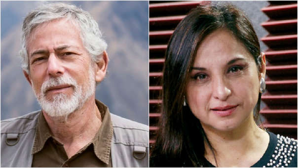 Gustavo Gorriti y Rosana Cueva