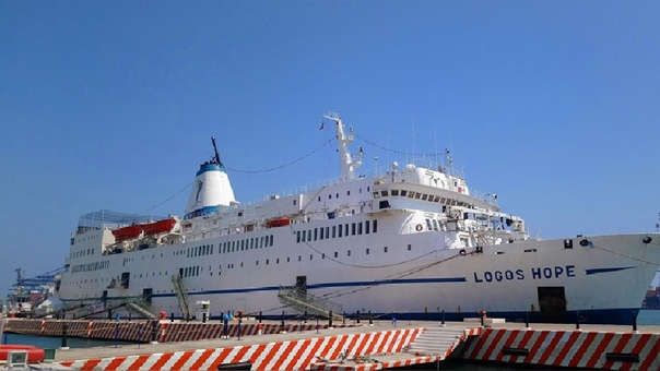 La embarcación Logos Hope.