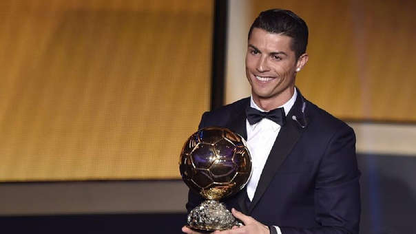 Cristiano Ronaldo ganó la última edición del Balón de Oro de France Football.