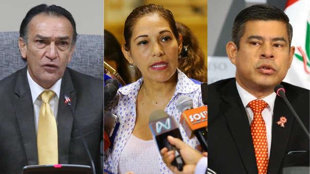 Congresistas defendieron las declaraciones de Keiko Fujimori quien negó haberse reunido con el juez César Hinostroza.