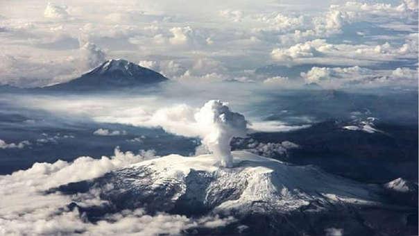 El nevado del Ruíz, es uno de los que sufre los efectos del cambio climático.