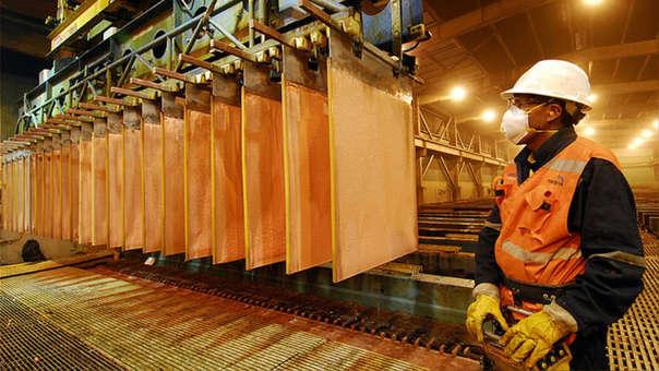 El cobre es uno de los productos que más exporta el Perú a China.