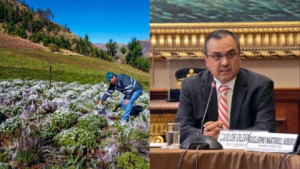 Según Oliva la propuesta permite al gobierno continuar con el financiamiento y que se pueda atender el crédito de los pequeños productores.