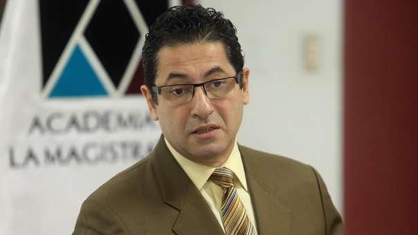 Heresi es protagonista de un audio con el juez César Hinostroza.
