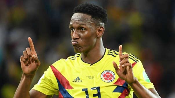 Yerry Mina jugó 3 partidos en el Mundial Rusia 2018 y anotó 3 goles.