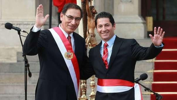 Vizcarra solicitó la renuncia a Heresi, la misma que fue aceptada.