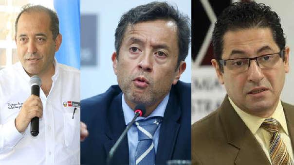 Ministros renunciantes