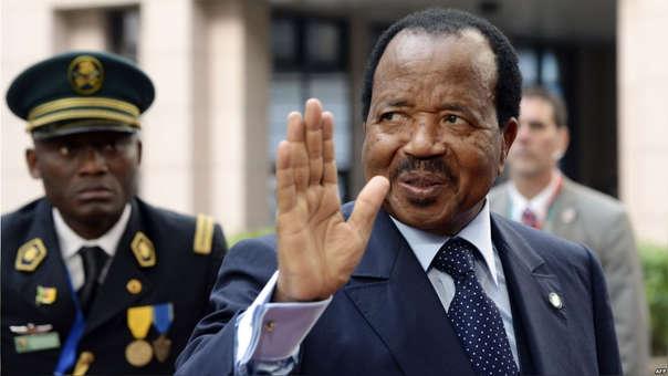 Paul Biya gobierna Camerún desde 1982.