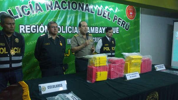 Policía incautó droga y detuvo a cinco personas