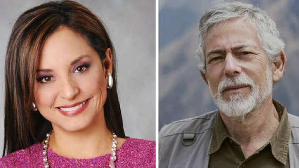 Rosana Cueva y Gustavo Gorriti