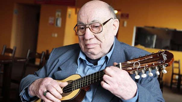 Jaime Guardia murió a los 85 años. Es conocido por ser cultor de la música ayacuchana.