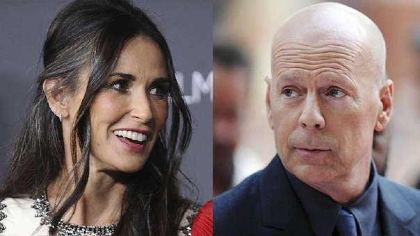 Demi Moore desató su artillería contra su ex esposo Bruce Willis, con quien compartió 12 años de matrimonio.