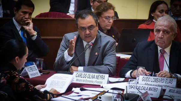 Carlos Oliva MEF Reforma Tributaria
