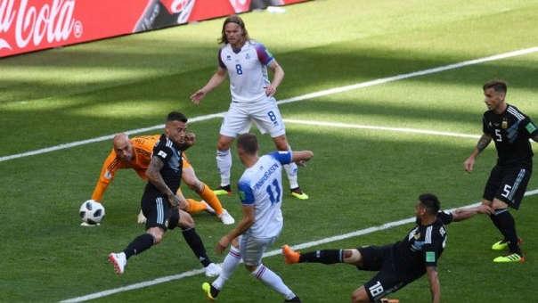 Islandia logró un punto en Rusia 2018.