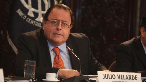 Velarde dijo que la publicación del próximo Reporte de Inflación en setiembre, tendría una previsión del PBI al alza para este 2018.