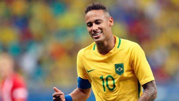 Neymar fue el capitán de Brasil en el Mundial Rusia 2018.