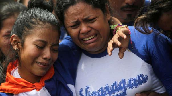 NICARAGUA-UNREST-STUDENTS-FUNERAL