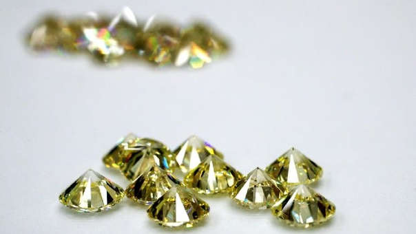 Los diamantes son de los minerales preciosos más valiosos del mundo (referencial).