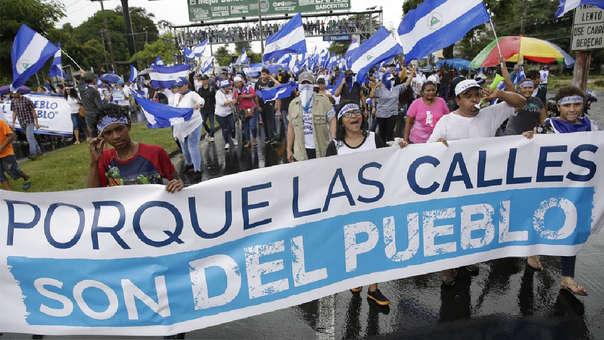 Ola de protestas remecen Nicaragua desde el pasado 18 de abril.