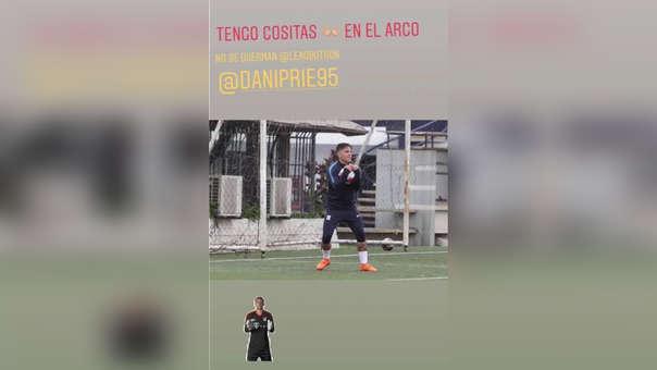 Esta fue la captura que Alejandro Hohberg compartió en su cuenta de Instagram.