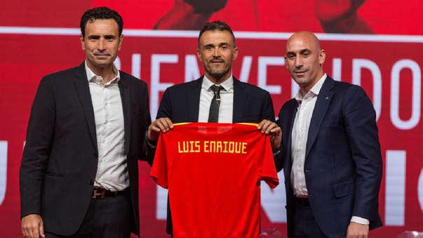 Luis Enrique, presentado como seleccionador: