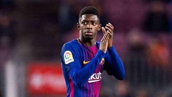 Ousmane Dembélé llegó al Barcelona a cambio de 115 millones de euros procedente del Borussia Dortmund.