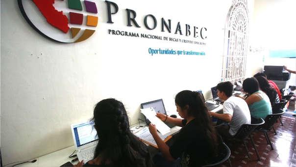 El Programa Nacional de Becas y Crédito Educativo (Pronabec) es parte del Ministerio de Educación.
