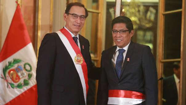 Zeballos Salinas sucede en el cargo a Salvador Heresi, quien renunció al verse involucrado en un audio difundido por IDL.