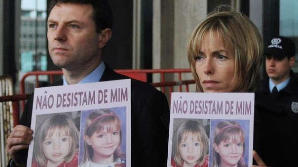 Los padres de 'Maddie', la niña desaparecida hace más de una década.