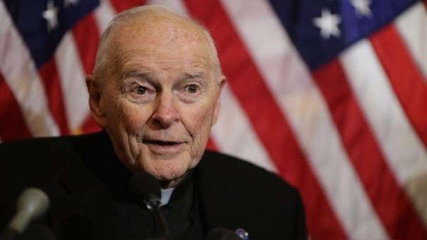Theodore McCarrick es cardenal y arzobispo emérito de Washington.