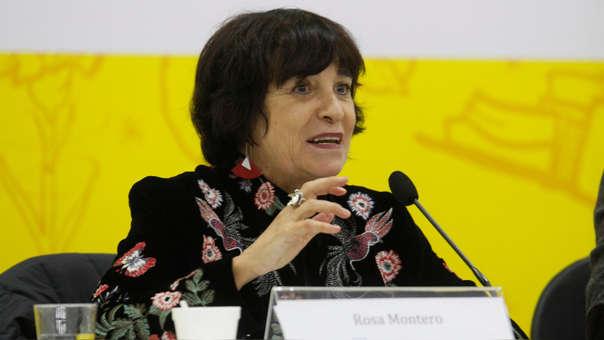 Rosa Montero estará en el Perú hasta el lunes 23 de julio. Antes, participó en diversas actividades de la FIL Lima 2018.