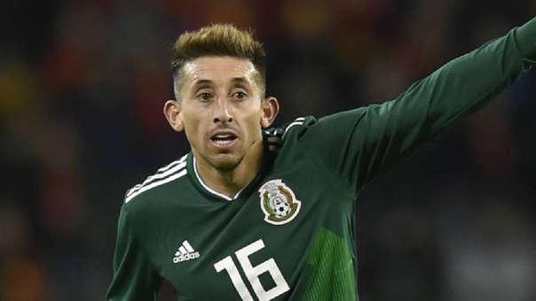 Héctor Herrera debutó con la Selección de México en el 2012.